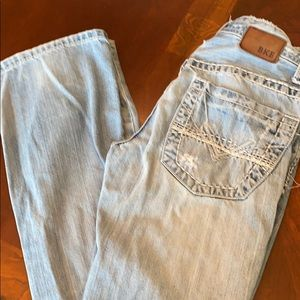BKE distressed Aiden jeans 27r